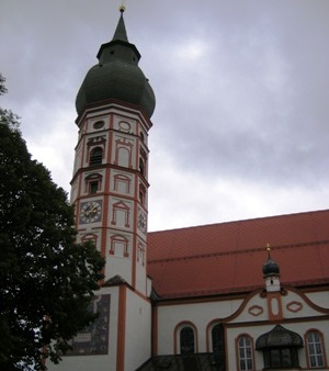 Church at Monastery Andechs
