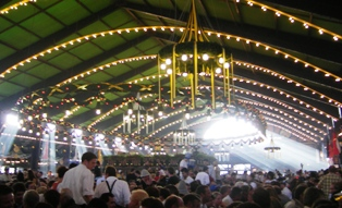 Augutiner Beer Tent at Oktoberfest Munich