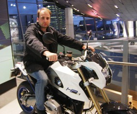 BMW World in Munich features motorbikes as well