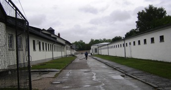 Bunker, at Concentration Camp Memorial Site in Dachau