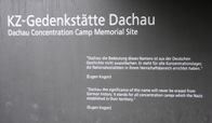 Dachau Concentration Camp Memorial Site Near Munich