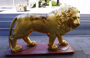 Golden Lion in Munich
