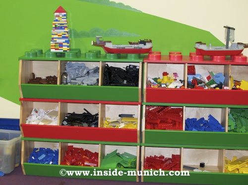 Lego Building Blocks Sorted by Color