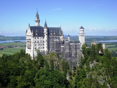 Neuschwanstein Castle of the Fairy-Tale King