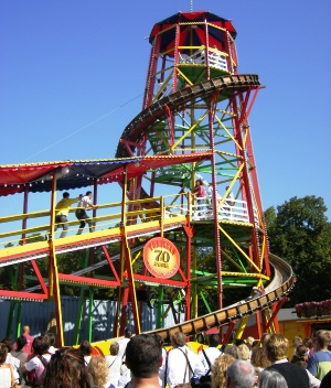 Tobogan, one of the oldest fun rides