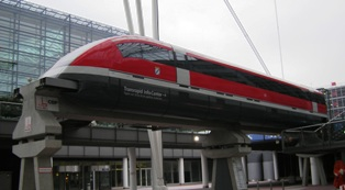 Magnetic Levitation Train Transrapid will soon be built  to connect Munich airport with the city. It travels at almost 500 km/h